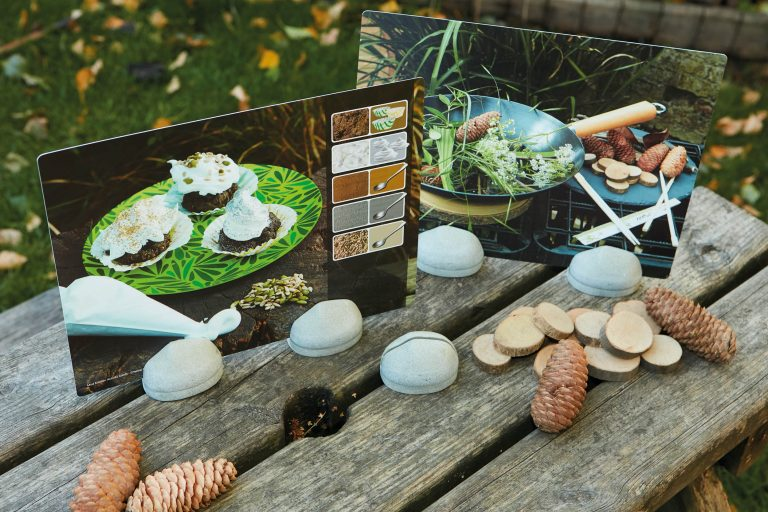 Mud Kitchen Activities - 16 exciting mud recipe cards