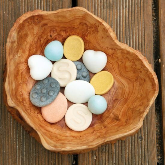 12 sensory worry stones: 2 of each of 6 designs