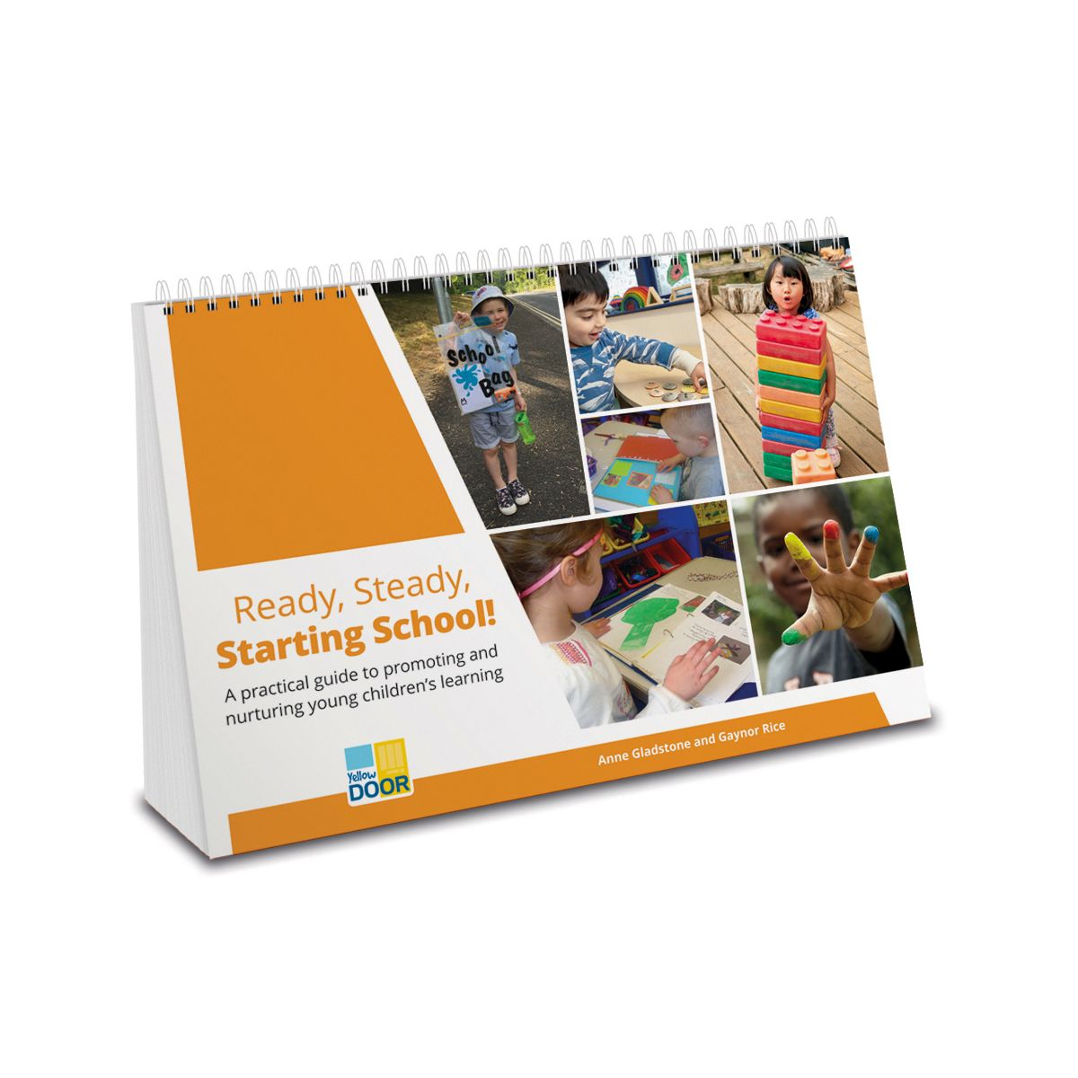 Spiral-bound handbook with practical ideas to smooth transition from Reception to Key Stage 1