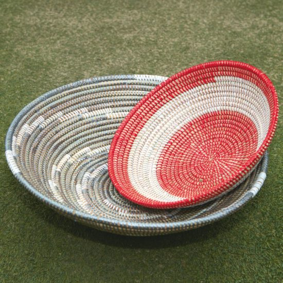 Beautiful handwoven baskets in two sizes