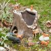 Large tree stump for imaginative play