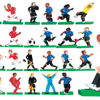 Football Wooden Characters