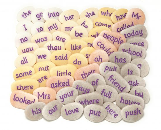 Tricky Word Pebbles Set 1
