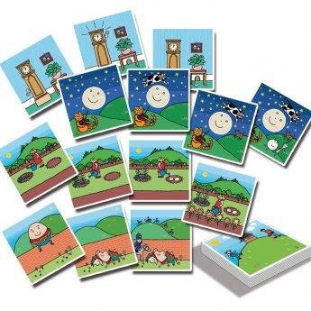 Nursery Rhyme Sequencing Cards