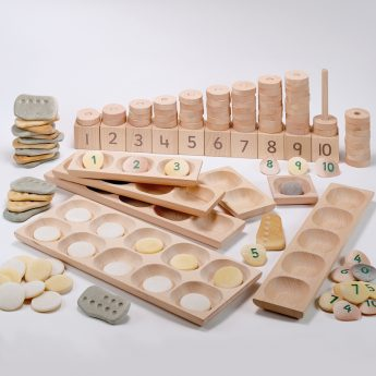 Bumper set of tactile early years maths mastery resources
