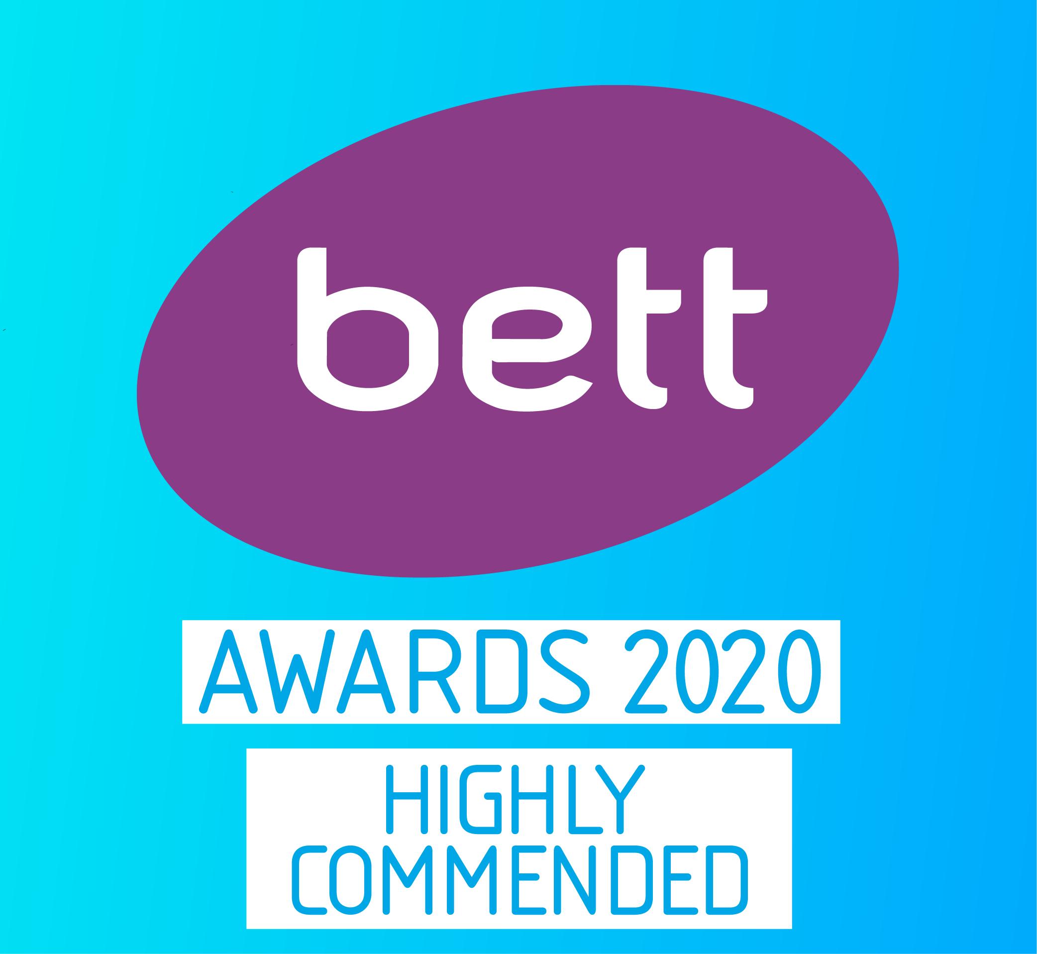 Bett Awards 2020 Highly Commended